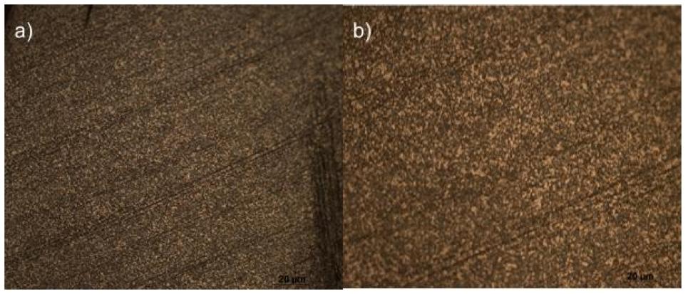 Visão pelo microscópio de uma barra de aço D2